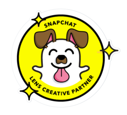 Snapchat lens creative partner badge