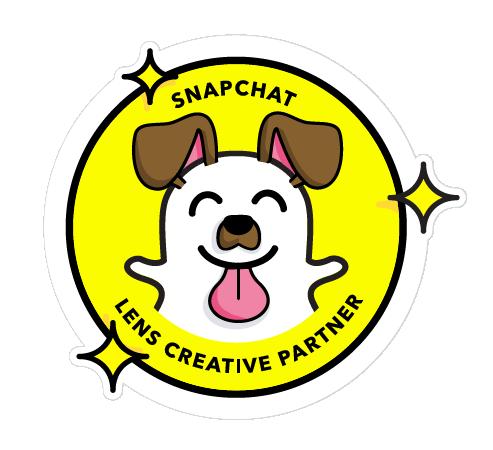 Snapchat lens creative partner badge