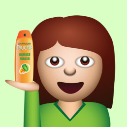 L'Oreal Sticker Emoji