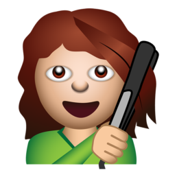 loreal garnier illustrated messaging sticker emoji