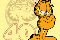 garfield birthday banner