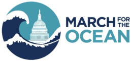 march for the ocean sticker