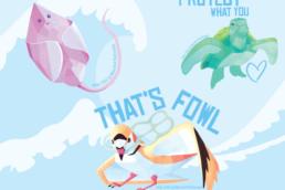 ifaw illustrated sticker