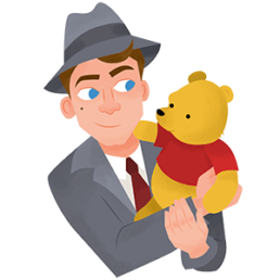 disney christopher robin sticker