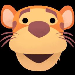 tigger twitter emoji