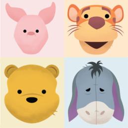 Christopher Robin Twitter Emojis