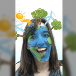 Earth Day Augmented Reality Filter