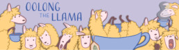Oolong the Llama Messaging Stickerrs