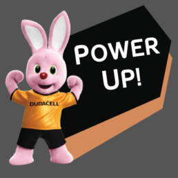 Duracell Bunny - Power Up!