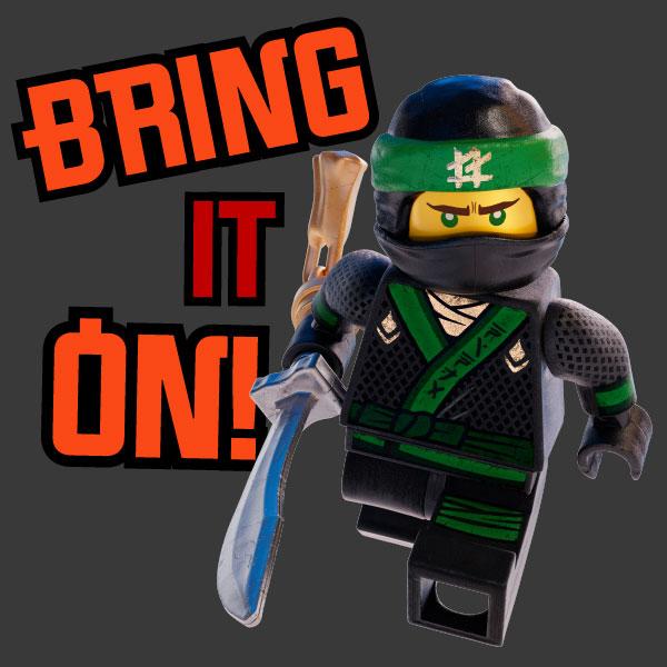 Warner Bros Ninjago Messaging Sticker