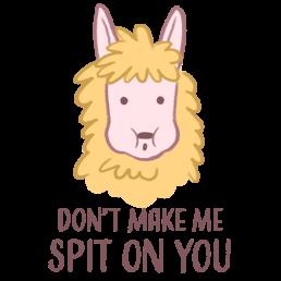 Oolong the Llama Spit
