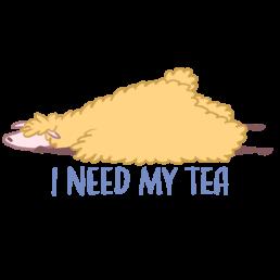 Oolong the Llama Need Tea