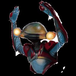 Alpha Power Ranger Sticker
