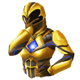 Yellow Power Ranger Sticker