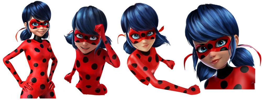 BTM Miraculous Ladybug Stickers
