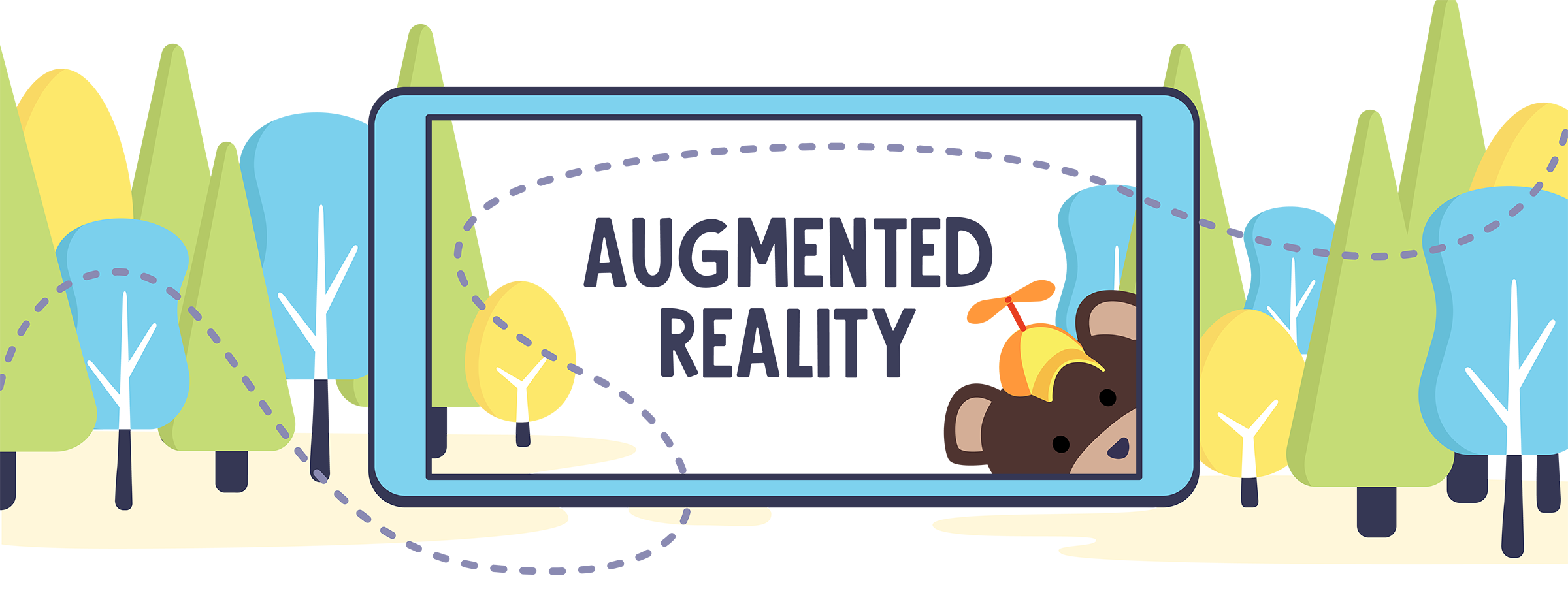augmented reality header