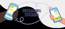 messaging stickers header