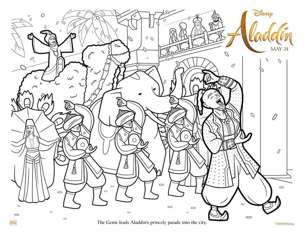 Disney Aladdin 2019 Coloring Pages Coloring Pages Patinsudouest